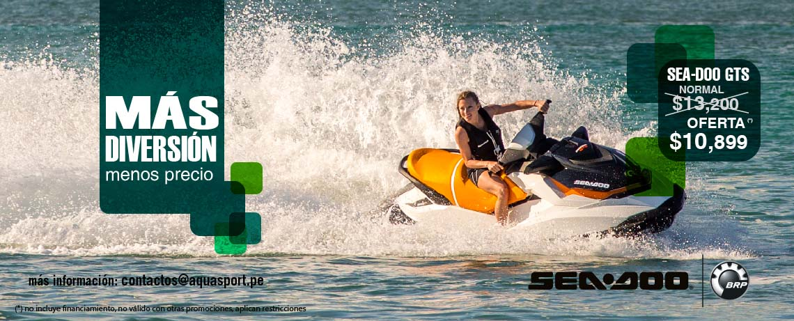 Seadoo GTS sin financiamiento