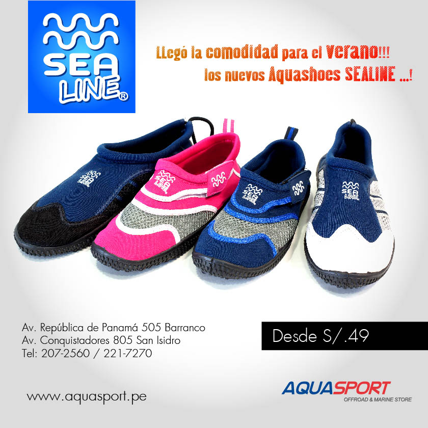 Aquashoes Sealine - Aquasport.pe